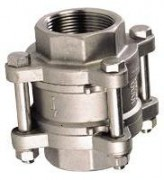 Stainless steel check valve ff