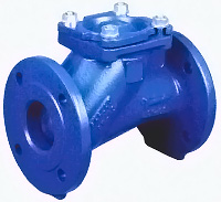 Check valve, flanged