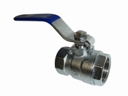 Ball valve threaded FF female-female with manual switch lever