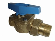 Ball valve MF male-female threaded with flare-nut