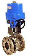 Stainless steel ball valve with electric actuator PN 16, WEG753K