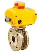 Pneumatic actuated ball valve WPG710