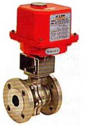 Electric actuated stainless steel ball valve WEG753