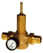Bronze pressure reducing valve male union fittings