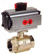 Pneumatic actuated brass ball valve WPG502