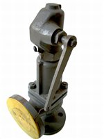 Spring-loaded safety valve, Si 781