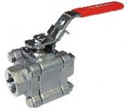 Stainless steel ball valve 3 pieces PN100