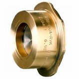 Check valve, between flanges, returnvent, bronze