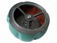 Check valve, between flanges, returnvent, casting